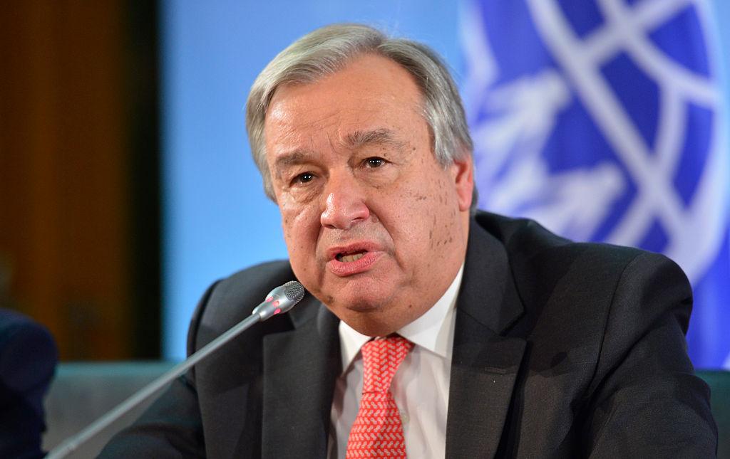 Guterres insiste en que aún no es tarde para revertir el cambio climático