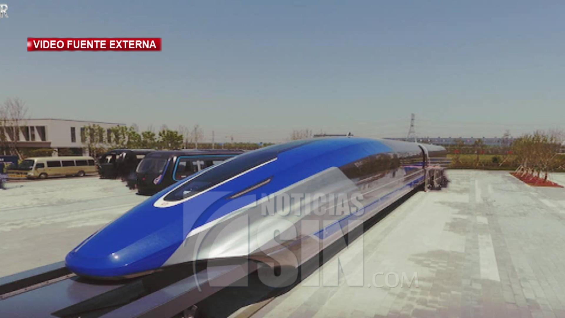 Presenta en China un modelo de tren bala que podrá alcanzar la velocidad de 600 km