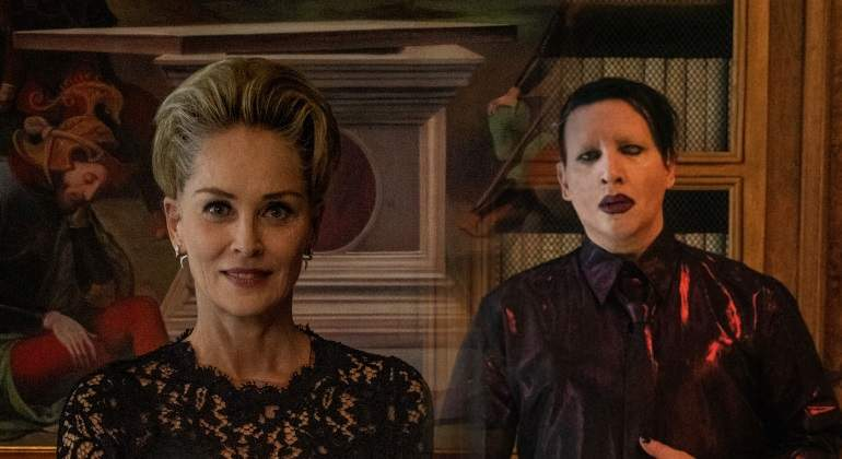 Sharon Stone y Marilyn Manson aparecerán en