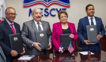 El ITSC realiza acuerdo con el MESCYT y la Metropolitan International University