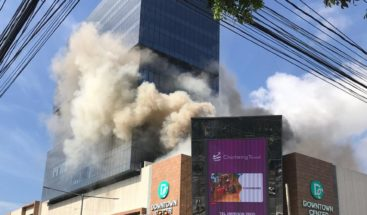 Conato de incendio afecta la plaza Downtown Center