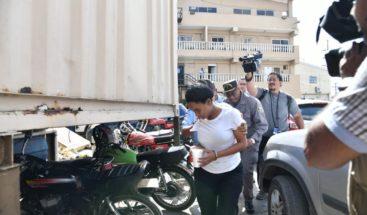 Un año de prisión preventiva para mujer participó en asaltoal seguridadde madre primera dama