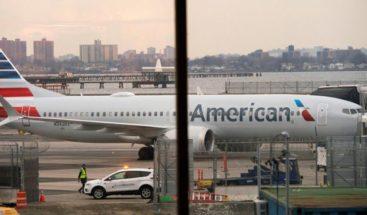 Compañía American Airlines cancela vuelos del  Boeing 737 MAX hasta septiembre