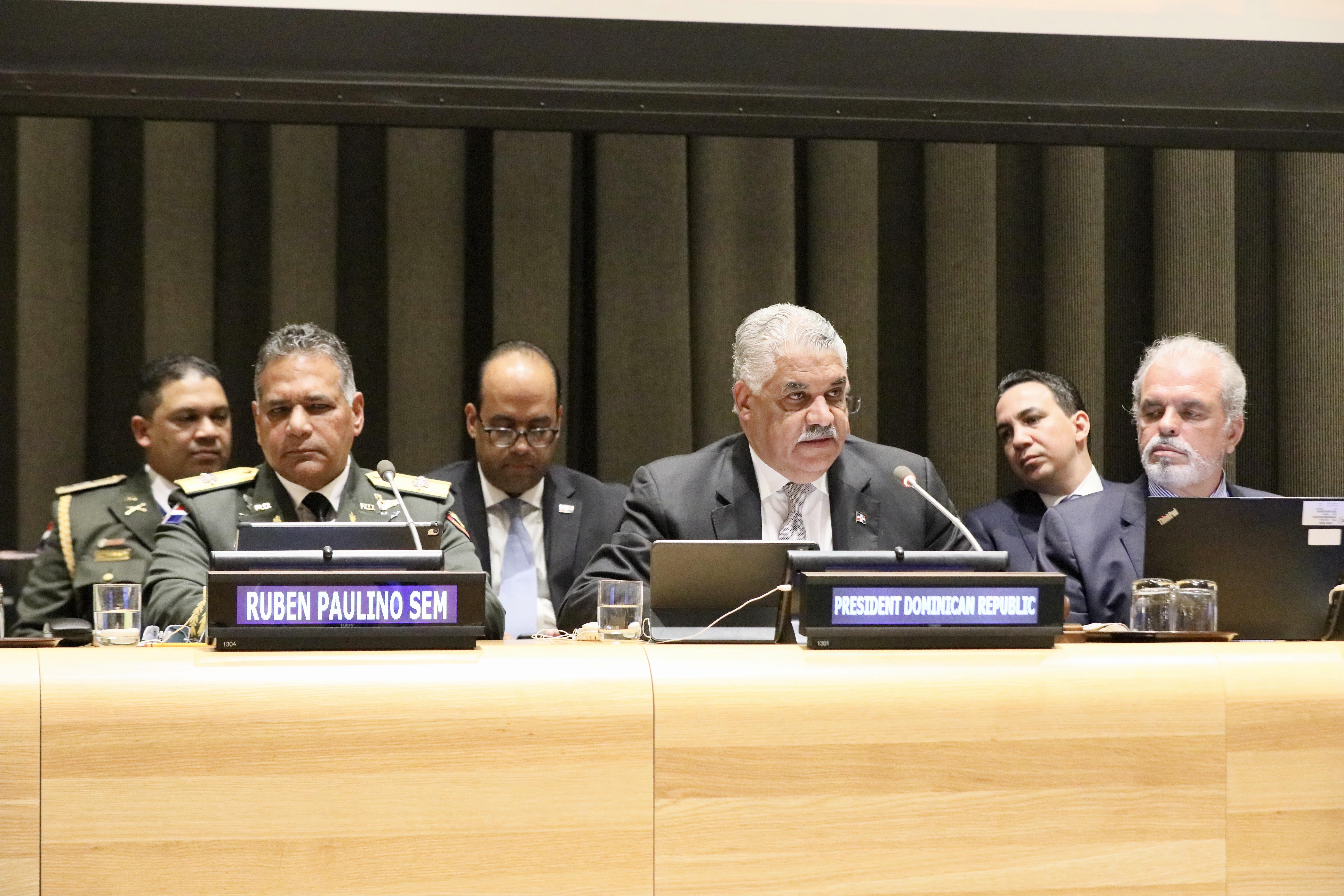 Ante la ONU canciller Vargas demanda mayores acciones contra narcotráfico y crimen organizado