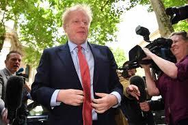 Una disputa a gritos con su novia interfiere en la campaña de Boris Johnson