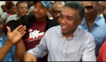 Félix Bautista inscribe precandidatura para senador por SJM