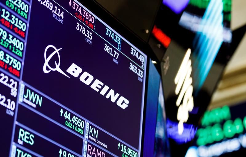 Tres meses de crisis en Boeing: un 8 % menos en bolsa y los 737 MAX en tierra
