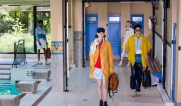 Piscina, pop y colores en la última jornada de la moda hombre en París