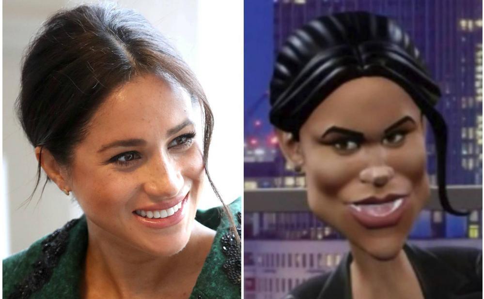 Acusan de racista a la BBC por una parodia de la duquesa de Sussex Meghan Markle