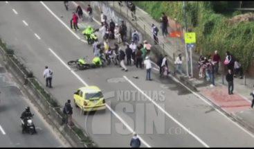 Fuertes disturbios entre manifestantes y policías en celebración del día mundial del
