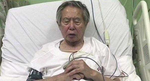 Fujimori sufre de una gastritis erosiva hemorrágica, informa su médico