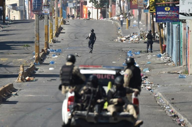 La crisis haitiana en su punto más elevado