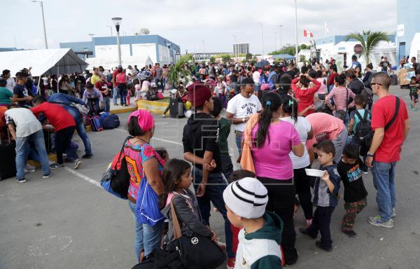 Más de 9.000 venezolanos ingresaron a Perú en último día sin exigencia visa
