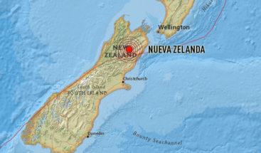 Un terremoto de magnitud 6,0 sacude las islas Kermadec en Nueva Zelanda