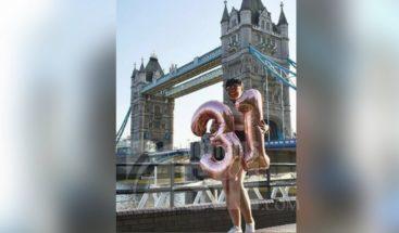 Juliana O'Neal celebra su cumpleaños número 31en Londres