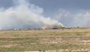 Varios heridos tras una explosión cerca de un aeropuerto de Nuevo México