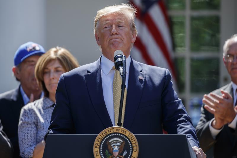 Trump insiste en plazo de dos semanas antes de empezar