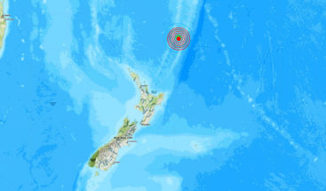 Se registra un sismo de magnitud 6,3 cerca de la costa de Nueva Zelanda