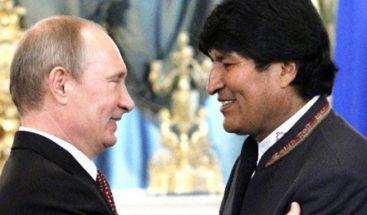 Evo Morales tiene previsto reunirse con Putin el próximo 11 de julio en Moscú