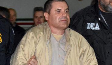 Estados Unidos pide confiscar al Chapo 12.666 millones de dólares
