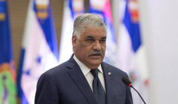 Canciller Miguel Vargas reafirma garantías de seguridad a nacionales y extranjeros