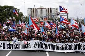 Manifestantes y artistas vuelven a exigir renuncia de gobernador de P.Rico