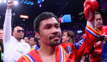 Manny Pacquiao se convierte en campeón mundial por novena vez tras derrotar a Keith Thurman