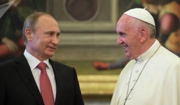 Putin visitará Italia el 4 de julio para reunirse con Conte y papa Francisco