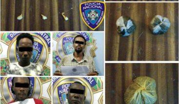Apresan a cuatro hombres con porciones de marihuana y bolsitas de crack en SPM