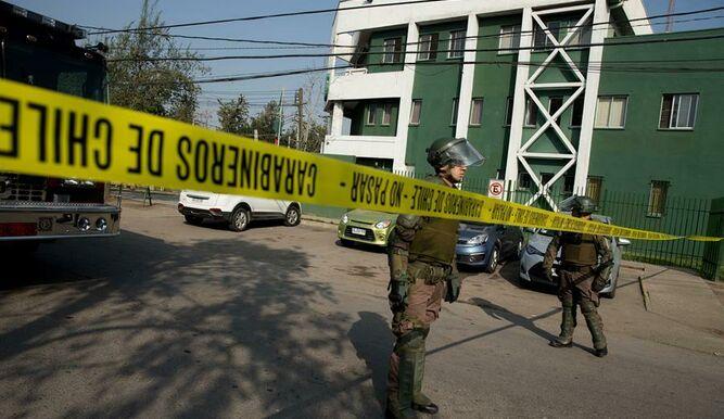 Al menos 5 heridos por explosión de bomba en cuartel de Carabineros de Chile