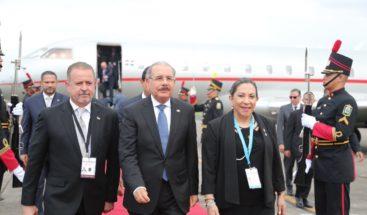 PresidentesMedina llegaa Panamá a investidura de Cortizo