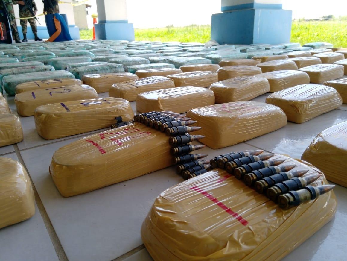 La Policía de Bolivia confisca cocaína y marihuana valuada en 700.000 dólares