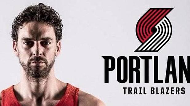 Gasol anuncia su fichaje por los Portland Trail Blazers