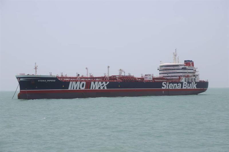 Theresa May preside una reunión de emergencia por la detención de petrolero en Irán