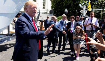 Trump asegura que las redadas han sido