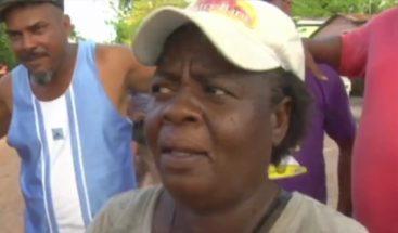 ¡De Bayaguana mami! Mujer afirma sólo le dieron RD$150 de los RD$200 que le ofrecieron por participar en la marcha
