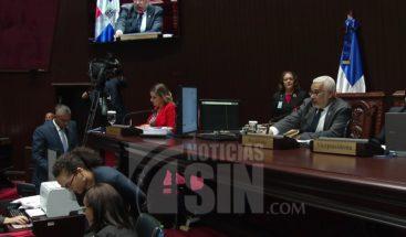 Leonelistas en contra de llamado de atención de comité PLD; suspenden sesión en Cámara de Diputados