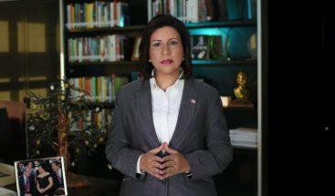 Margarita Cedeño pide a Leonel y Danilo ponerse de acuerdo y evitar división del PLD