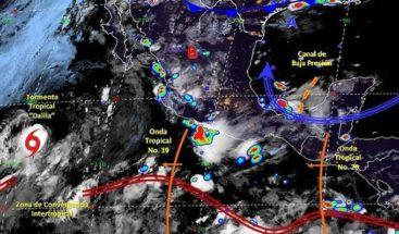 Se forma la tormenta tropical Dalila lejos de costas del Pacífico mexicano