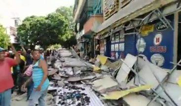 Sepultan resto de joven que murió tras desplomarse techo de taller en Villa Juana
