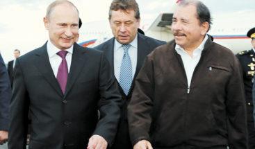 Putin a Ortega:
