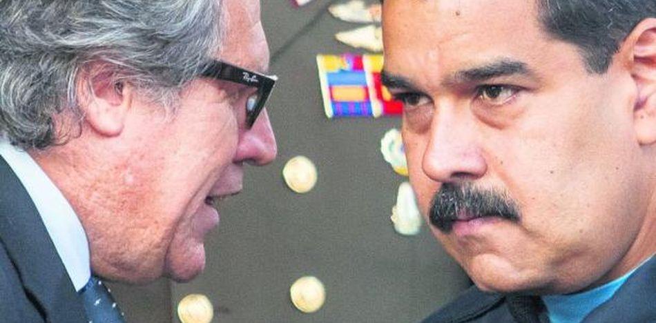 EE.UU. y Almagro prometen mantener presión a Maduro mientras sigue el diálogo