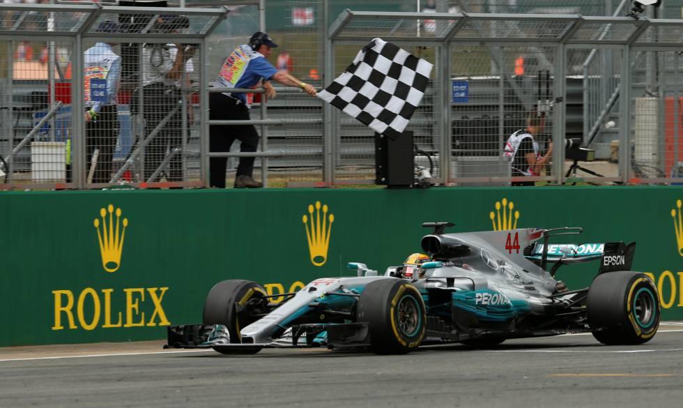 Hamilton gana el Gran Premio de Gran Bretaña
