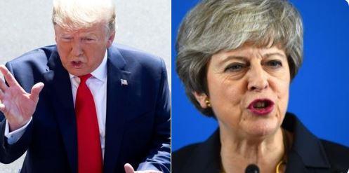 Trump y May acuerdan presionar a Irán para evitar que obtenga bomba nuclear