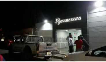 Apresan e identifican a acusados de asaltar sucursal Banreservas en Sabana de la Mar