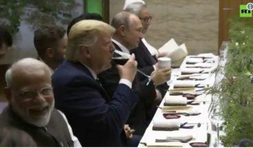Putin trae su propia taza al G20