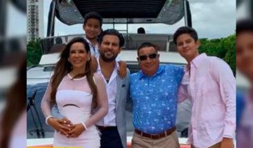 Jerry Bazúa, ex de Paulina Rubio se casa con mujer 20 años mayor que él