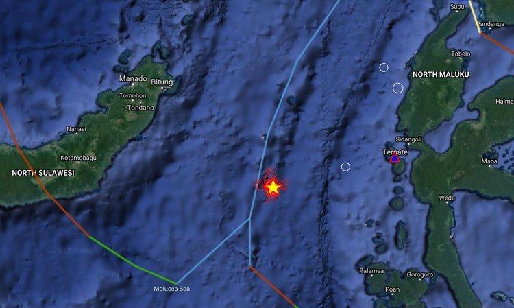 Alerta por un posible tsunami tras un sismo de magnitud 6,9 en Indonesia