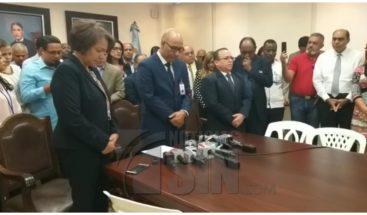Comisión del Minerd se reúne con manifestantes que rechazan orden 33-19 sobre igualdad de género