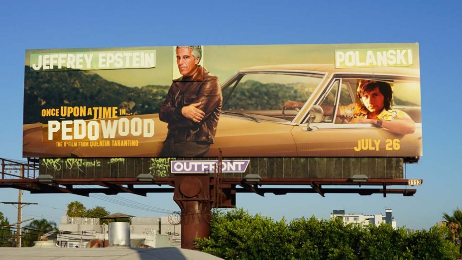 Alteran anuncios de nueva película de Tarantino con acusados de abuso sexual